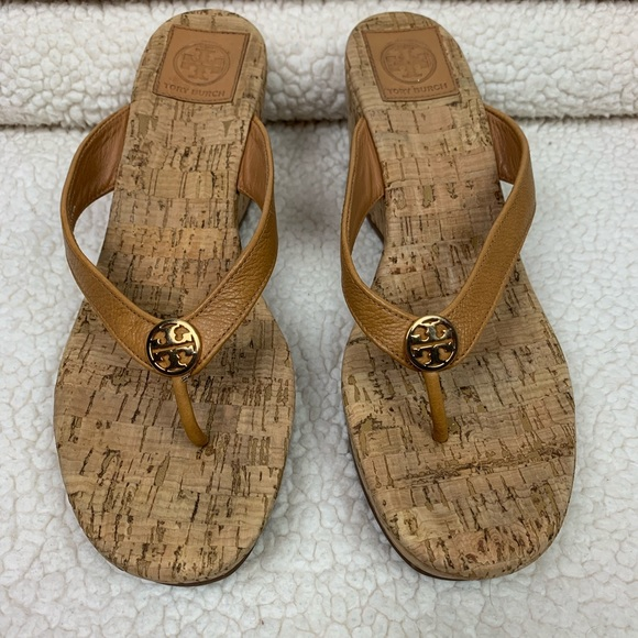 0270e0327dec Tory Burch Shoes - Tory Burch Suzy Cork Wedge Sandals 9
